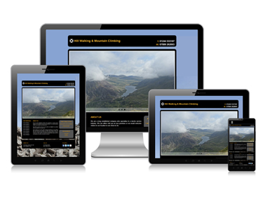 Outdoors Website Design